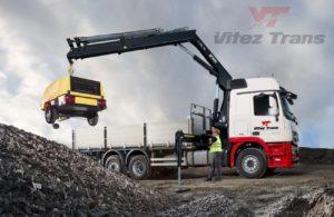 Kamion sa kranom